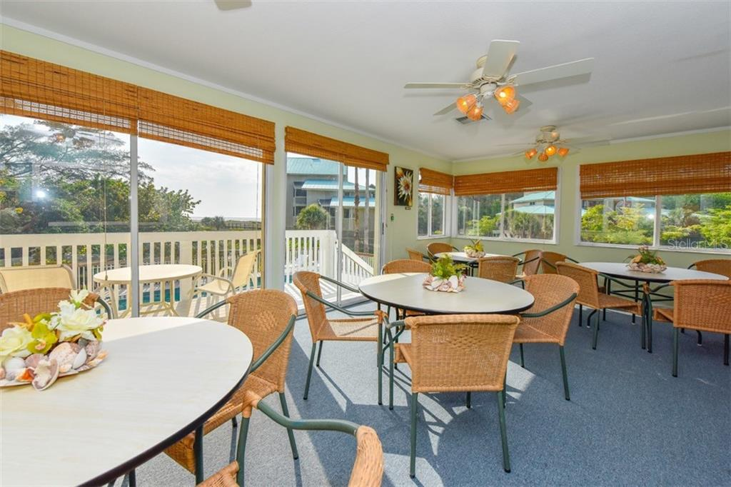 Seating area inside clubhouse on the island - Condo for sale at 11000 Placida Rd #2501, Placida, FL 33946 - MLS Number is D6112229