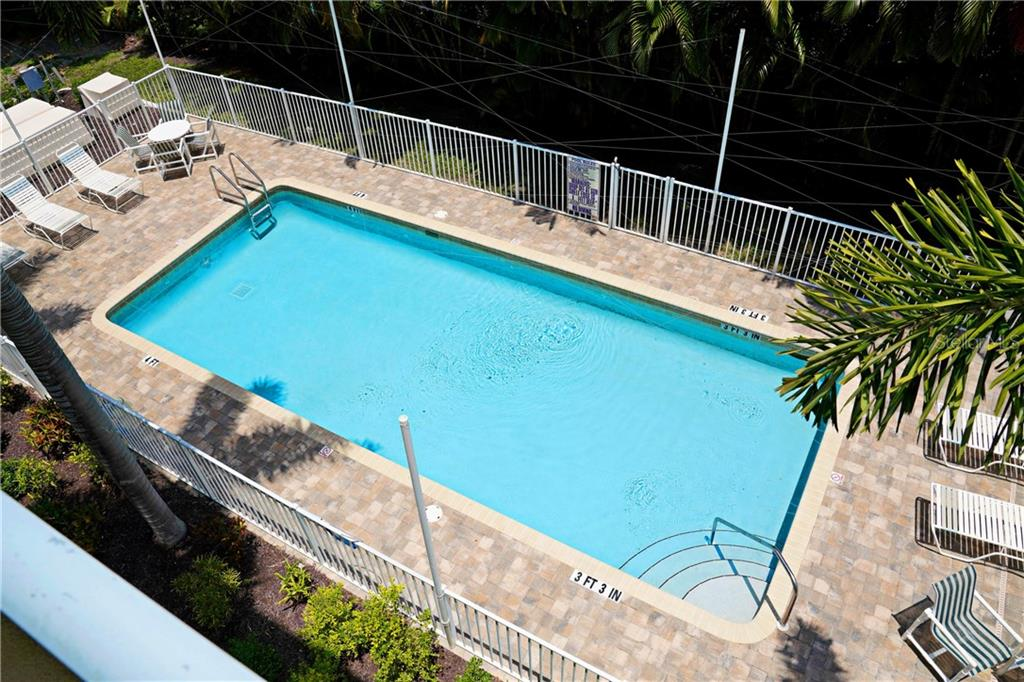 Large community pool - Condo for sale at 2245 N Beach Rd #304, Englewood, FL 34223 - MLS Number is D6112346