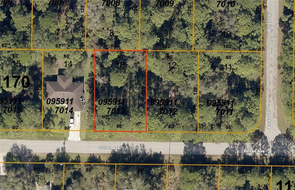 New Attachment - Vacant Land for sale at Lot 13 Sultan Ave, North Port, FL 34286 - MLS Number is D6112710