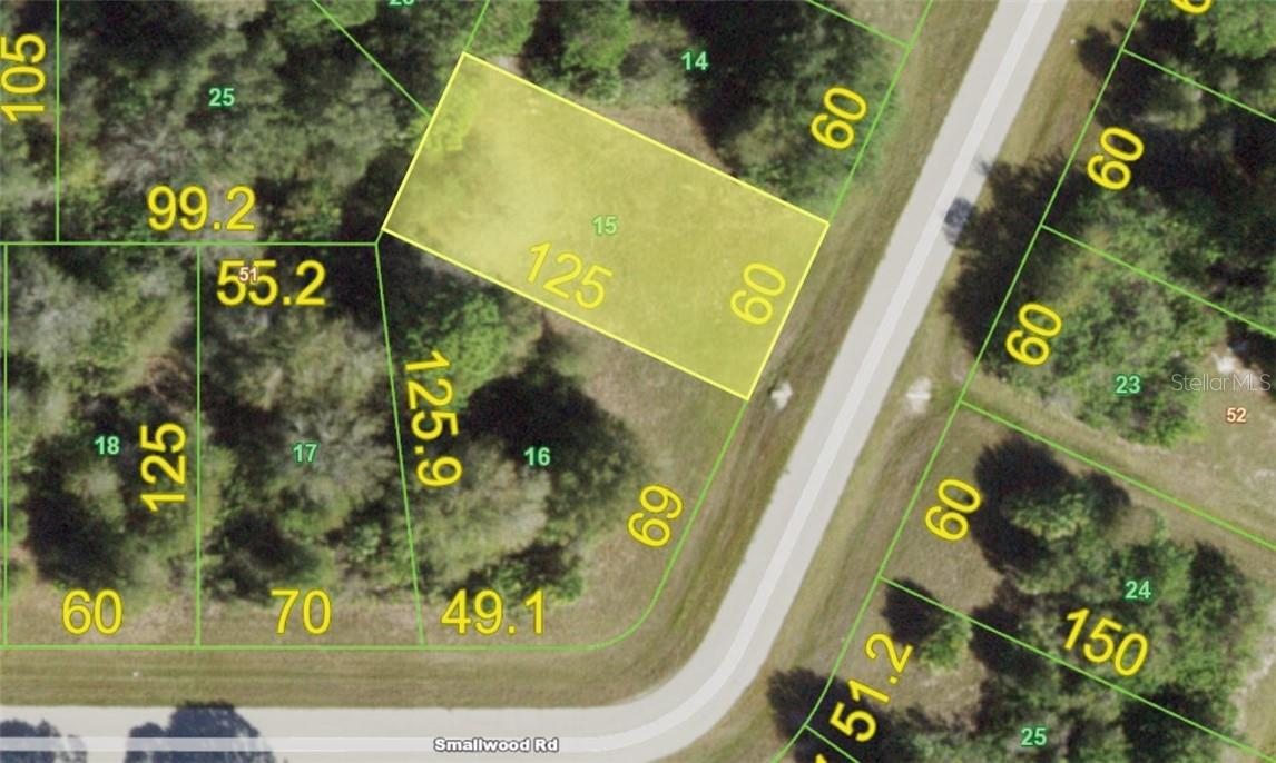 Vacant Land for sale at 143 Smallwood Rd, Rotonda West, FL 33947 - MLS Number is D6113979