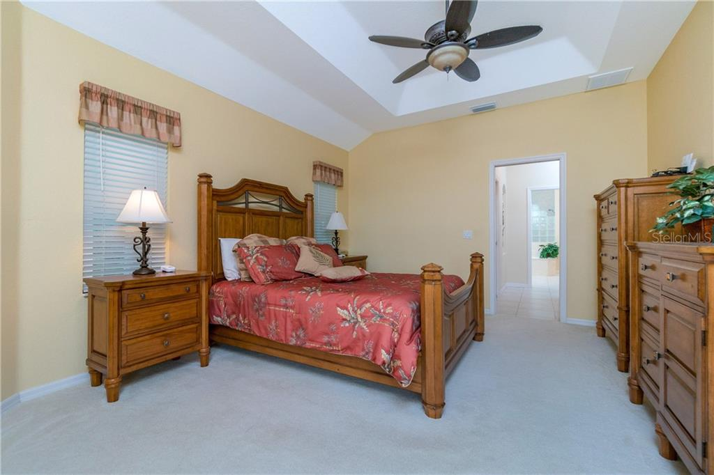 Another view of the master bedroom. - Single Family Home for sale at 439 Boundary Blvd, Rotonda West, FL 33947 - MLS Number is D6114162
