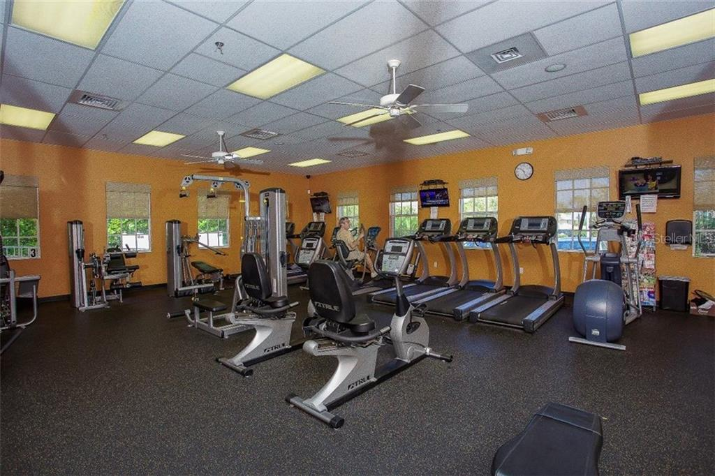 COMMUNITY FITNESS CENTER - Single Family Home for sale at 1944 Coconut Palm Cir, North Port, FL 34288 - MLS Number is D6114523