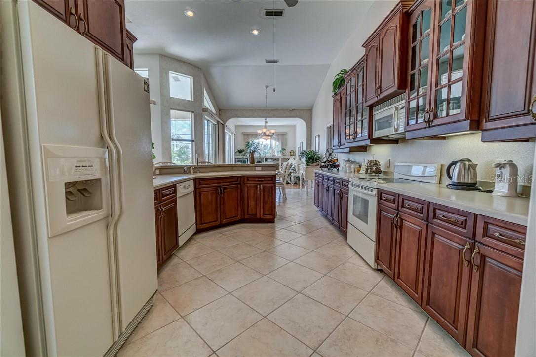 Plenty of space for an island or stainless steel work table if you so choose. - Single Family Home for sale at 12307 S Access Rd, Port Charlotte, FL 33981 - MLS Number is D6117140