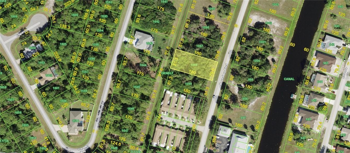 Wire Fraud Notice - Vacant Land for sale at 259 Boundary Blvd, Rotonda West, FL 33947 - MLS Number is D6117882