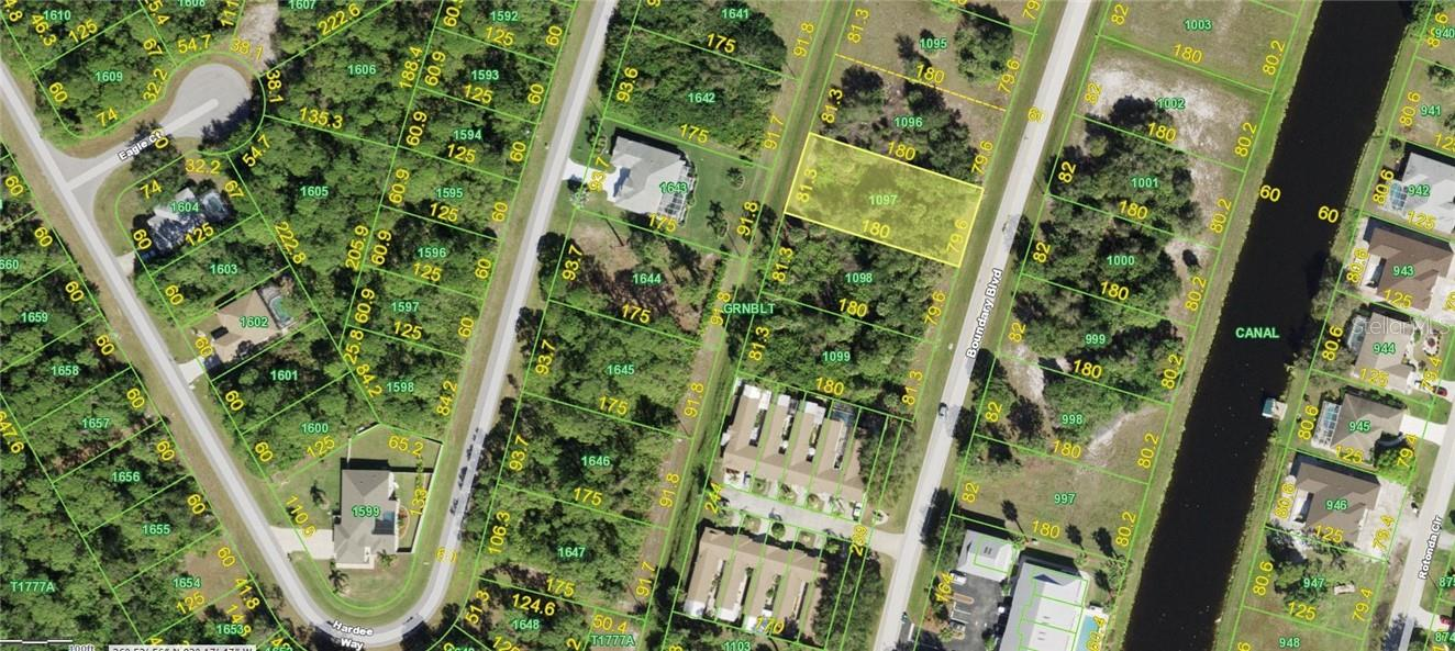 Vacant Land for sale at 261 Boundary Blvd, Rotonda West, FL 33947 - MLS Number is D6117883