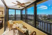 Lanai off Master and View - Condo for sale at 5760 Midnight Pass Rd #702, Sarasota, FL 34242 - MLS Number is D5916943