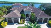 Aerial view of Magnificent Home - Single Family Home for sale at 550 Coral Creek Dr, Placida, FL 33946 - MLS Number is D5917129