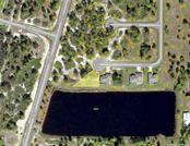 Lot is 10,593 sq. ft, dimensions are 46x90x167x168.  Water frontage is 167 ft. - Vacant Land for sale at 3 Sabot Ct, Placida, FL 33946 - MLS Number is D5918855