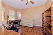 Home Office - Single Family Home for sale at 409 Montelluna Drive, North Venice, FL 34275 - MLS Number is D5923522