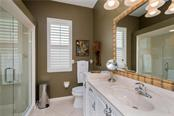 Second Bathroom - Single Family Home for sale at 422 Wincanton Pl, Venice, FL 34293 - MLS Number is D6101809