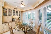 Breakfast Nook with built in desk - Condo for sale at 11000 Placida Rd #2103, Placida, FL 33946 - MLS Number is D6102674