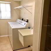 Indoor Laundry with Washer & Dryer and Closet Storage - Single Family Home for sale at 2291 Meetze St, Port Charlotte, FL 33953 - MLS Number is D6107685