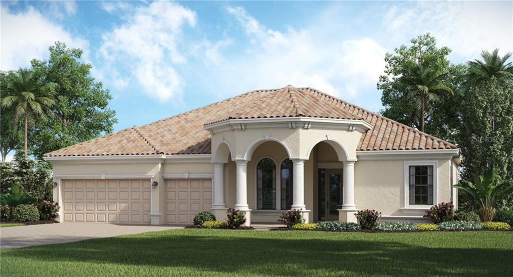 Doral Floor Plan - Single Family Home for sale at 13640 Classico Ct, Venice, FL 34293 - MLS Number is T3116518