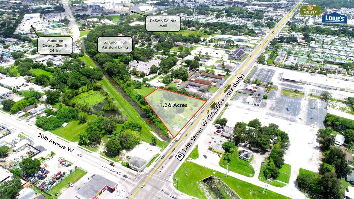 Vacant Land for sale at 3223 14th St W, Bradenton, FL 34205 - MLS Number is T3123964