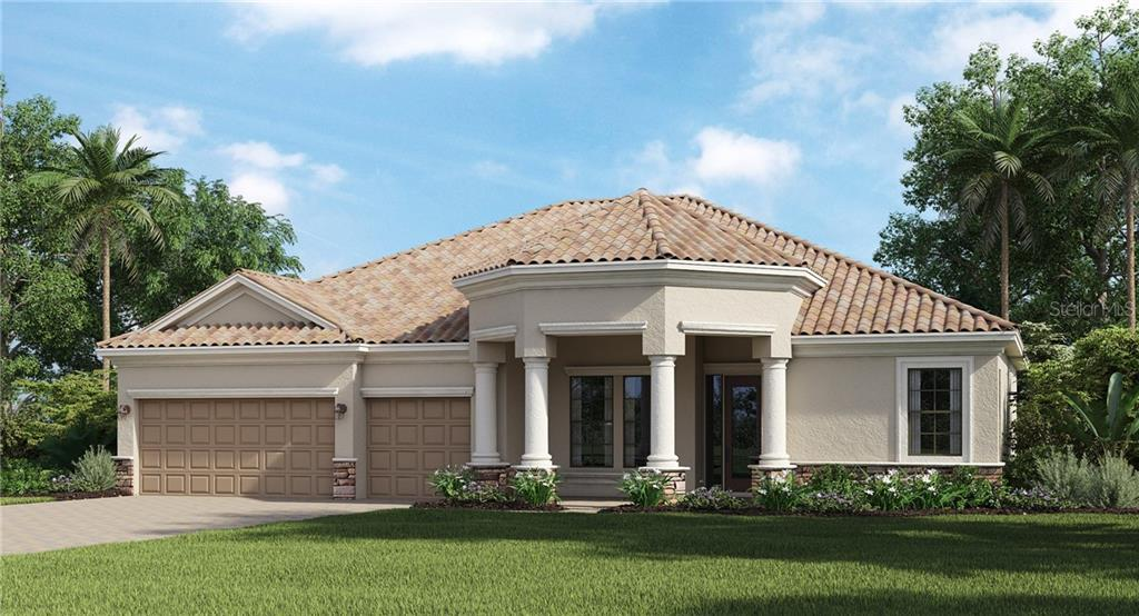 Floor Plan - Single Family Home for sale at 17319 Polo Trl, Bradenton, FL 34211 - MLS Number is T3266181