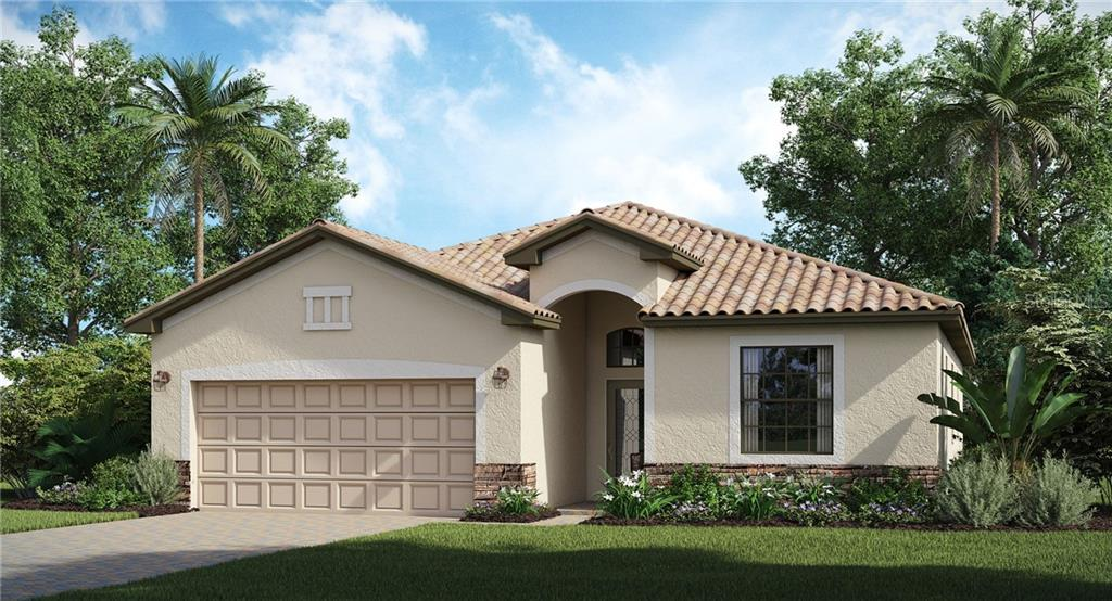 Floor Plan - Single Family Home for sale at 10185 Colubrina Dr, Venice, FL 34293 - MLS Number is T3267167