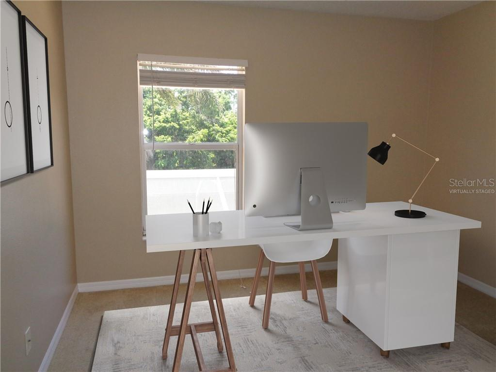 Virtually staged office - Single Family Home for sale at 851 Placid Lake Dr, Osprey, FL 34229 - MLS Number is O5712676
