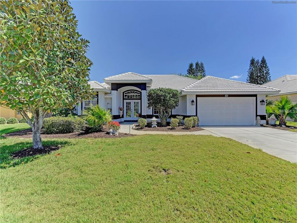 Single Family Home for sale at 531 Lake Of The Woods Dr, Venice, FL 34293 - MLS Number is U7813285