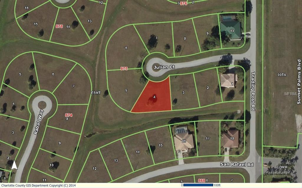 Vacant Land for sale at 24465 Julian Ct, Punta Gorda, FL 33955 - MLS Number is C7217845