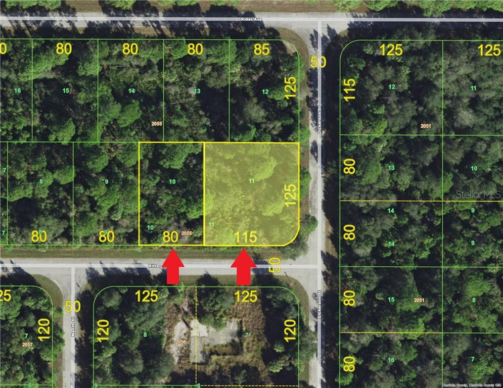Vacant Land for sale at 14070 Ritter Ave, Port Charlotte, FL 33953 - MLS Number is C7221063