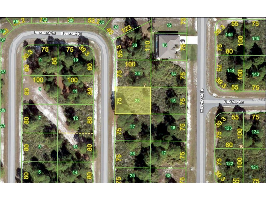 Vacant Land for sale at 29 Pennant Pl, Placida, FL 33946 - MLS Number is C7226702