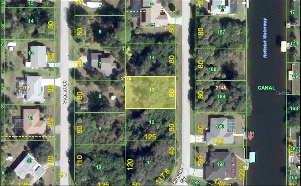 Vacant Land for sale at 18466 Hottelet Cir, Port Charlotte, FL 33948 - MLS Number is C7227766