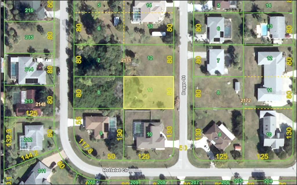 Vacant Land for sale at 4395 Boggs St, Port Charlotte, FL 33948 - MLS Number is C7229189