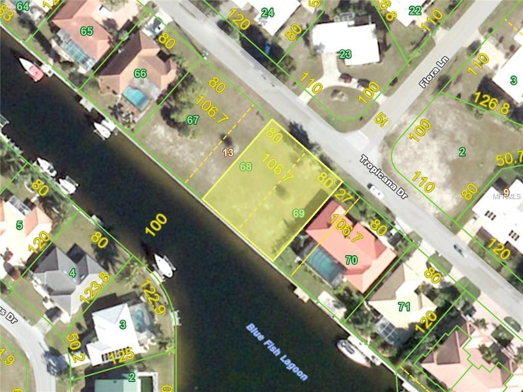 Vacant Land for sale at 119 Tropicana Dr, Punta Gorda, FL 33950 - MLS Number is C7231419