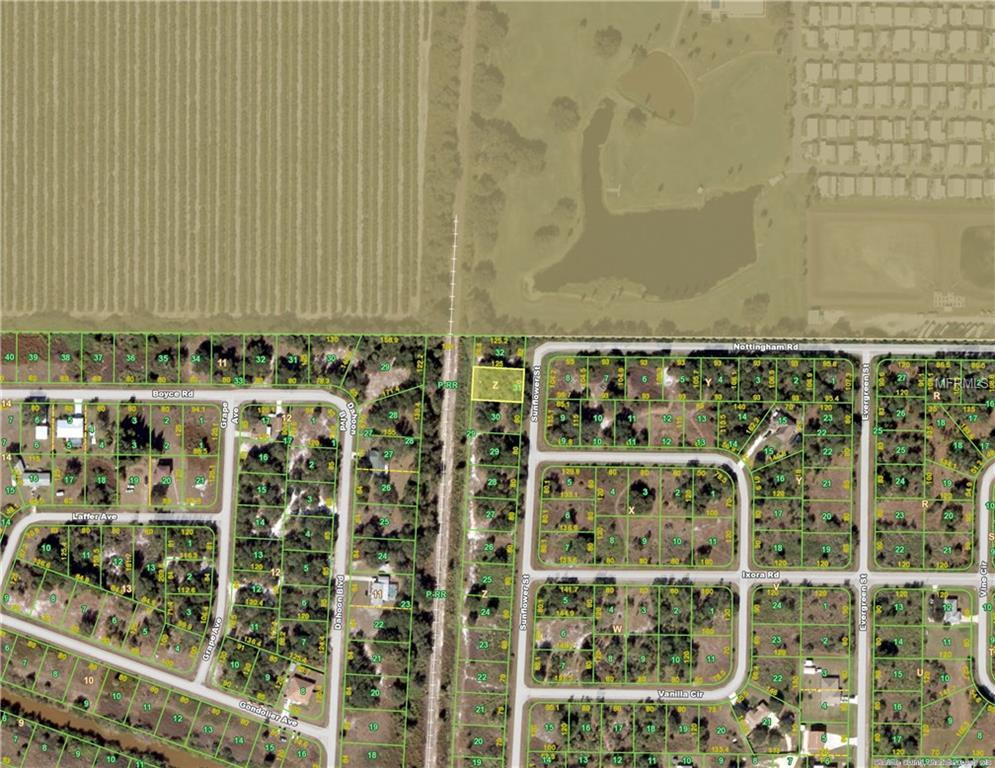 Vacant Land for sale at 13 Sunflower St, Punta Gorda, FL 33982 - MLS Number is C7231961