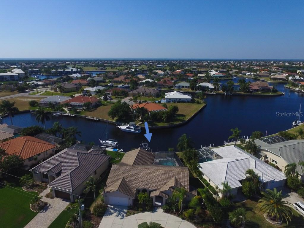 Lovely PGI Bird Section home with amazing intersecting canal views - Single Family Home for sale at 3419 Sandpiper Dr, Punta Gorda, FL 33950 - MLS Number is C7232529