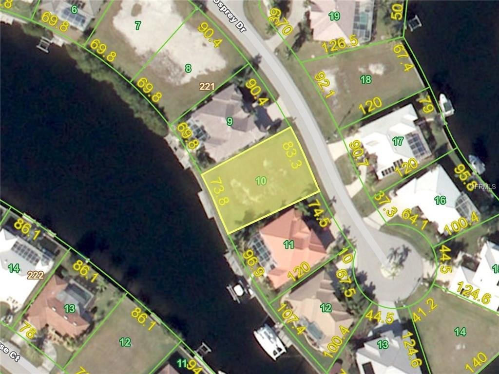 Vacant Land for sale at 1345 Osprey Dr, Punta Gorda, FL 33950 - MLS Number is C7233401