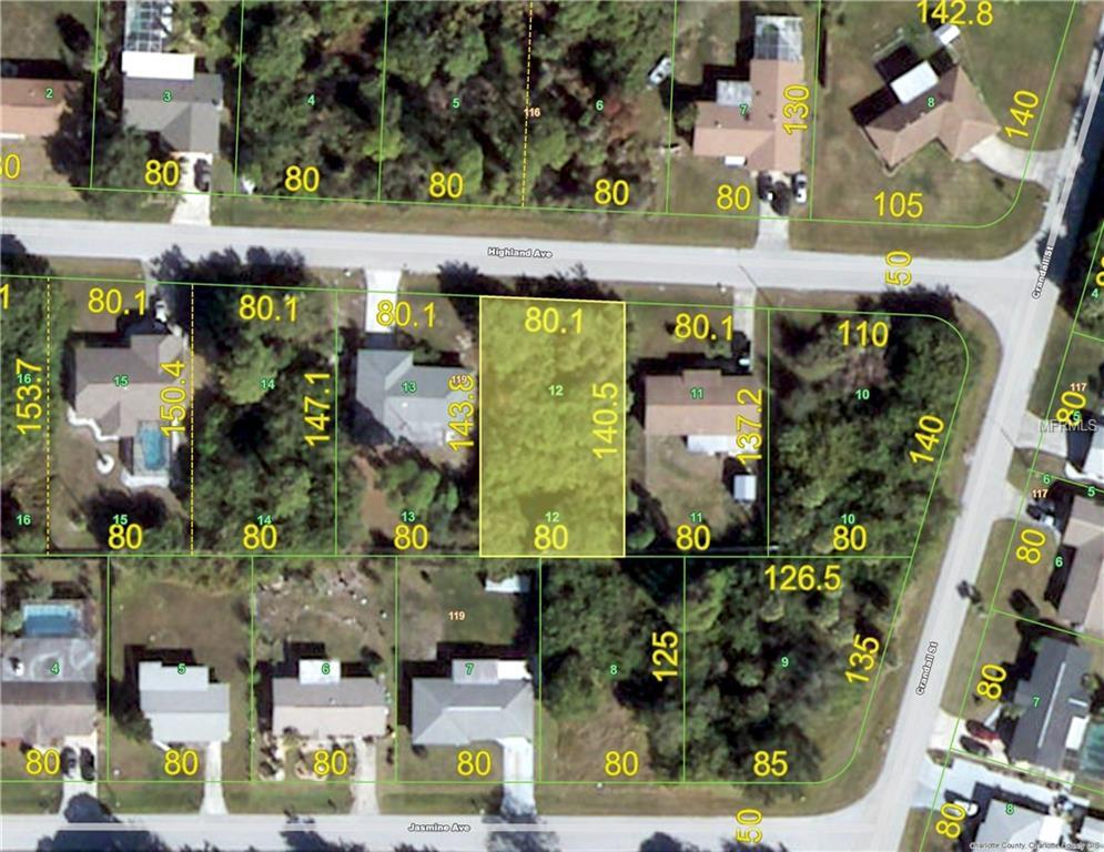 Vacant Land for sale at 519 Highland Ave Nw, Port Charlotte, FL 33952 - MLS Number is C7235117