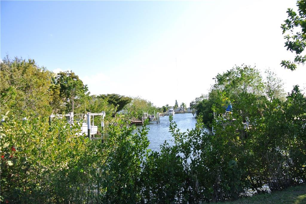 View down canal from lot - Vacant Land for sale at 4350 Deltona Dr, Punta Gorda, FL 33950 - MLS Number is C7235726