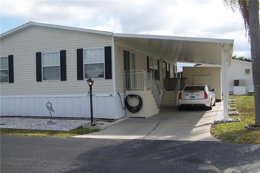 Manufactured Home for sale at 10303 Burnt Store Rd #94, Punta Gorda, FL 33950 - MLS Number is C7237504