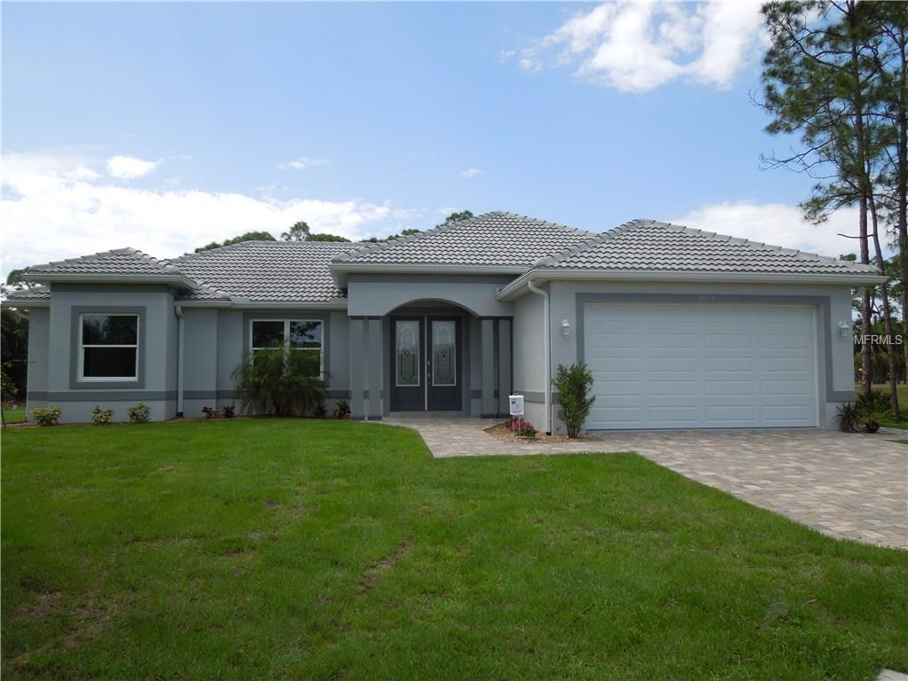 FRONT VIEW FROM STREET - Single Family Home for sale at 2069 Little Pine Cir, Punta Gorda, FL 33955 - MLS Number is C7237760