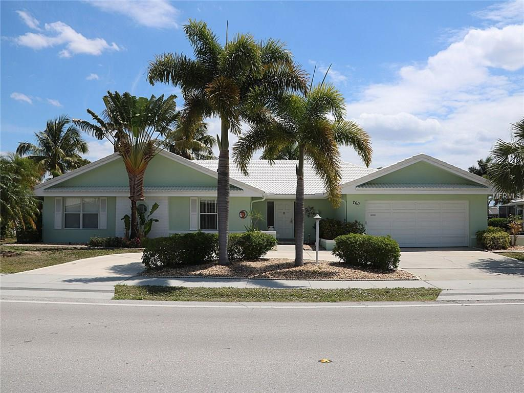 Single Family Home for sale at 760 Bal Harbor Blvd, Punta Gorda, FL 33950 - MLS Number is C7238346