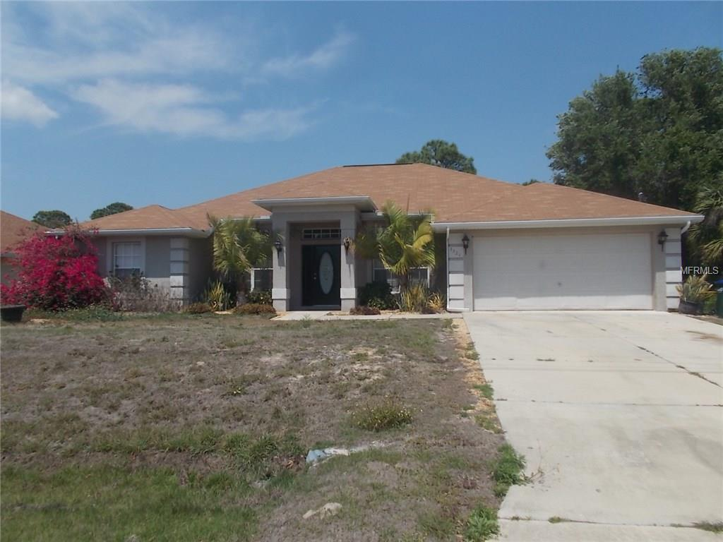 Single Family Home for sale at 3321 Richardson St, North Port, FL 34288 - MLS Number is C7238607