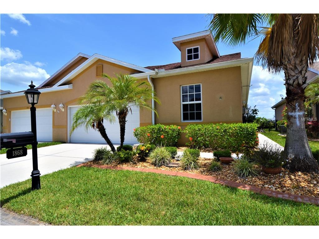 Villa for sale at 1868 Knights Bridge Trl, Port Charlotte, FL 33980 - MLS Number is C7240100