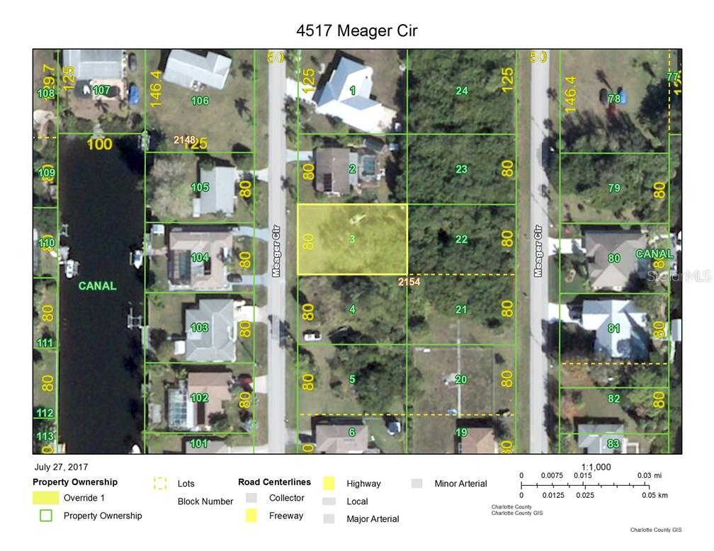 Vacant Land for sale at 4517 Meager Cir, Port Charlotte, FL 33948 - MLS Number is C7241874