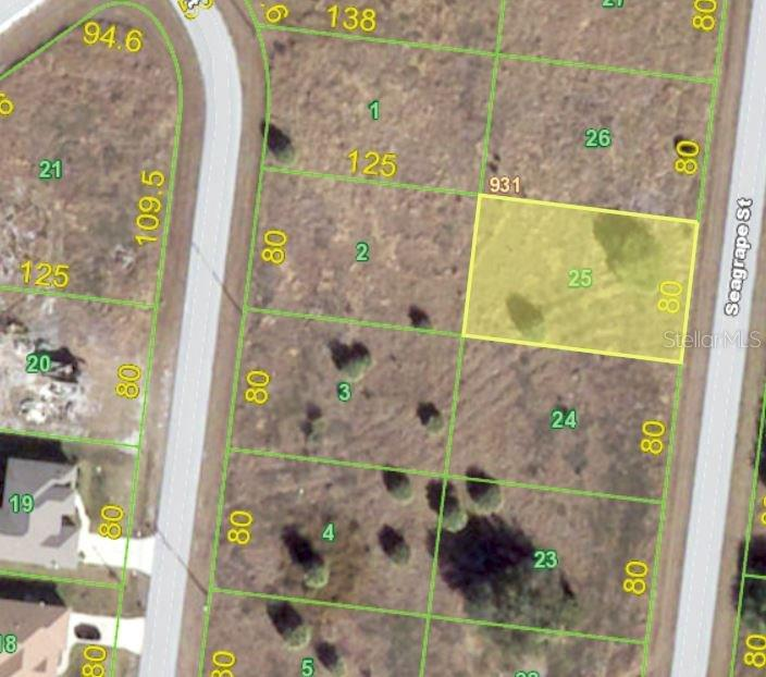 Vacant Land for sale at 83 Seagrape St, Port Charlotte, FL 33954 - MLS Number is C7242905