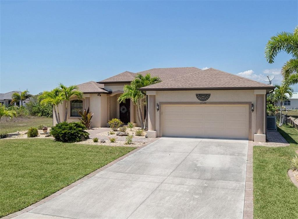 Front Entry - Single Family Home for sale at 15576 Melport Cir, Port Charlotte, FL 33981 - MLS Number is C7243793
