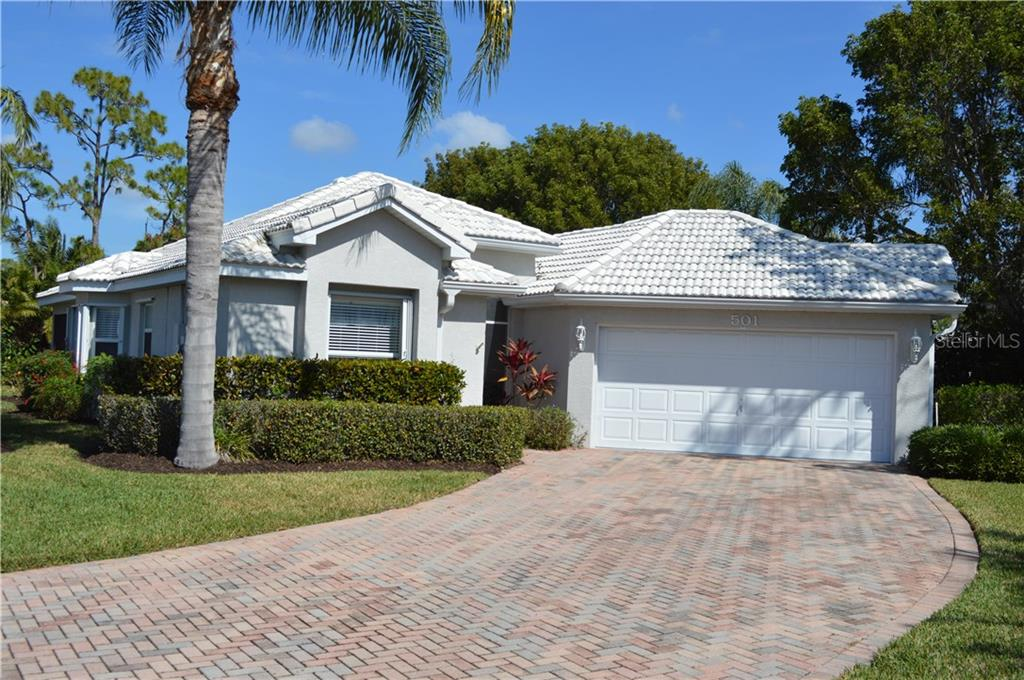 Excellent Curb Appeal With Paver Driveway - Single Family Home for sale at 501 Islamorada Blvd, Punta Gorda, FL 33955 - MLS Number is C7248962