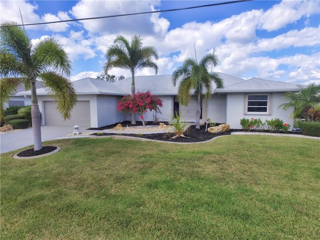 Front of home - Single Family Home for sale at 2526 Parisian Ct, Punta Gorda, FL 33950 - MLS Number is C7249726