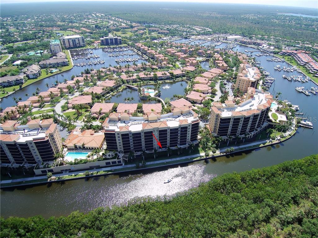 overall view - Condo for sale at 3329 Sunset Key Cir #104, Punta Gorda, FL 33955 - MLS Number is C7400151