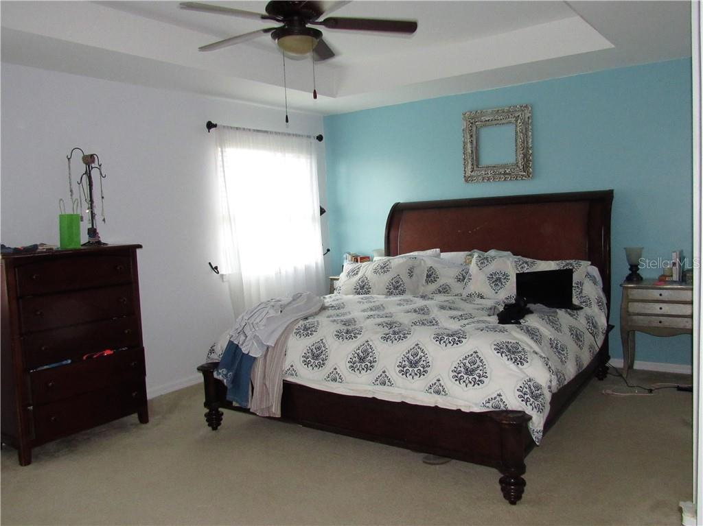 Master bedroom boasts 2 walk in closets and double door entry. - Single Family Home for sale at 24041 Canal St, Port Charlotte, FL 33980 - MLS Number is C7400879