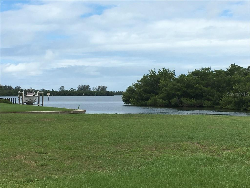 Entrance to the Canal from Intercoastal Waterway which is just south of Stump Pass. - Vacant Land for sale at 10476 Sherman St, Englewood, FL 34224 - MLS Number is C7401585