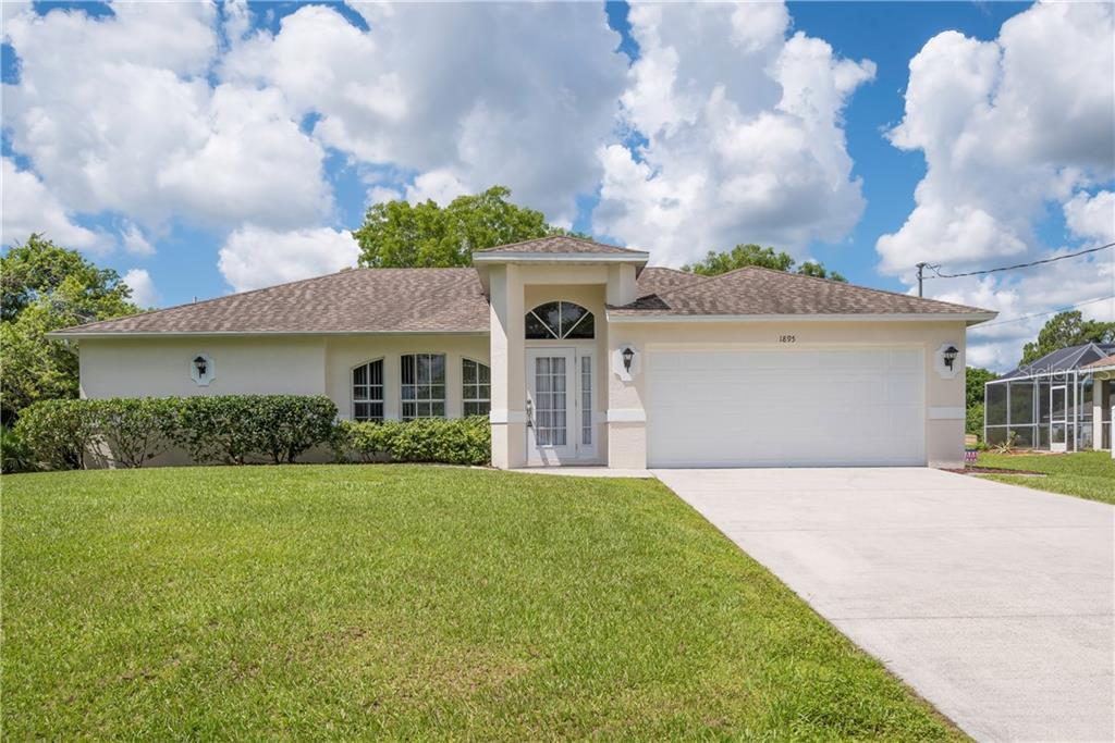 Sellers Property Disclosure - Single Family Home for sale at 1895 Wheeling Ave, North Port, FL 34288 - MLS Number is C7402381