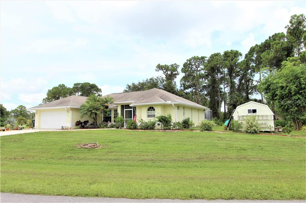 Front Exterior - Single Family Home for sale at 4846 Weatherton St, North Port, FL 34288 - MLS Number is C7403500