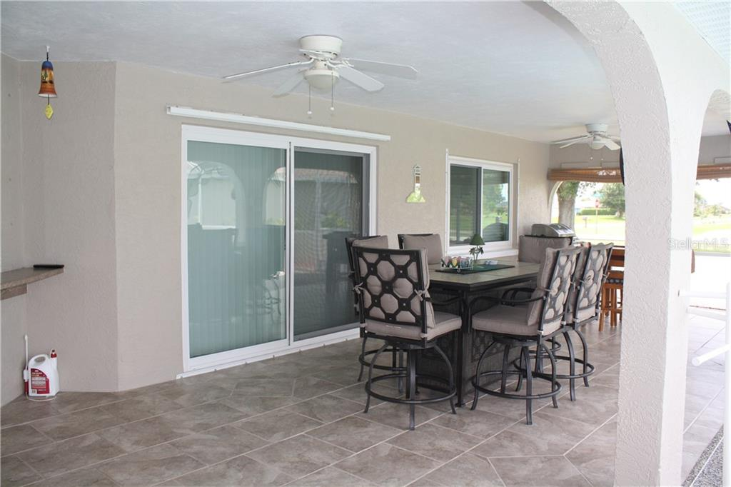 Beautiful lanai. - Single Family Home for sale at 25378 Rupert Rd, Punta Gorda, FL 33983 - MLS Number is C7403652