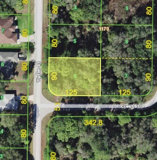 Vacant Land for sale at 260 Tipton St, Port Charlotte, FL 33954 - MLS Number is C7404270